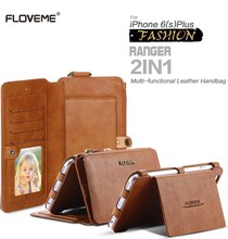 Floveme Ретро Бумажник телефон чехлы для Apple iPhone 7 6 6S плюс 5S 5 SE кожаная сумка-чехол для Iphone 7 6 6S случае Coque Капа Fundas