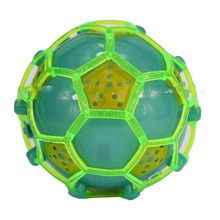 electric light football would jump colorful flash ball 2016 hot sale flash toys 1pcs special christmas