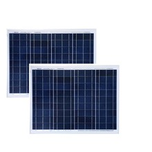 Solar Panel 12v 50w 2 Pcs Zonne paneel 100w Car Battery Charger Waterproof Caravan Camping Motorhome Home System