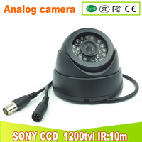 SYE CCTV Camera With Slot Video Record Analog Indoor Dome Camera SONY CCD 700TVL 1200TVL CAMERA