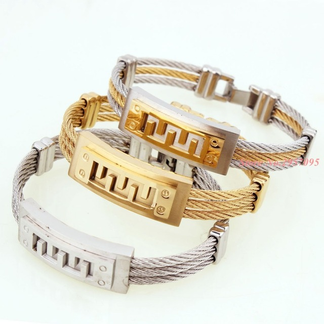 Charm Vintage Armband Schmuck Muster Neue Goldarmband Männer ...