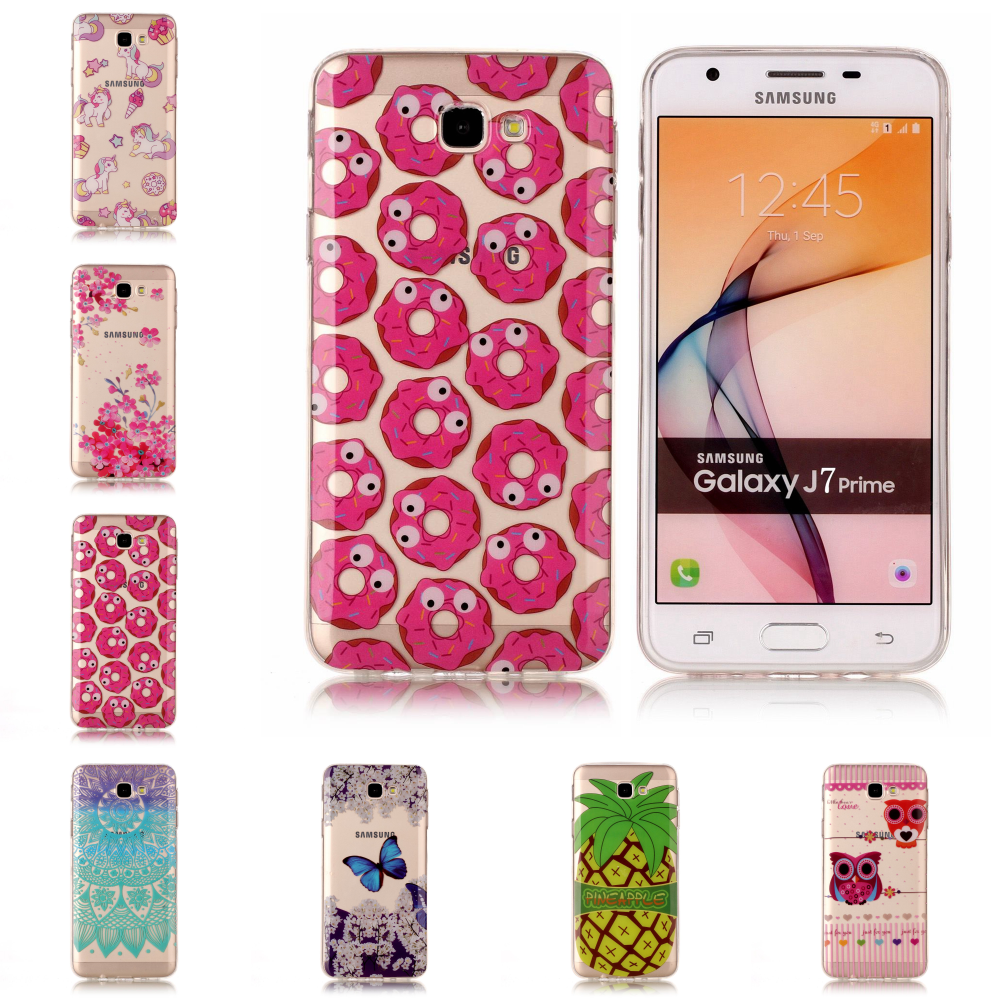 Best Pretty New Thin Transparent Silicone TPU Soft Phone Mobile Fundas Case Cover Etui For Samsu Samsung Galaxy J7 Prime