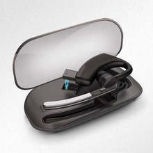 Бизнес bluetooth наушники V4.1 Автомобильная гарнитура вызова музыка Bluetooth гарнитура + Портативный коробка для хранения Fone де ouvido Bluetooth