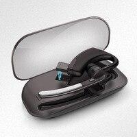 Business Bluetooth Headphones Bluetooth 4 1 Car Driver Handsfree Call Music Headsets Bluetooth Headset Portable Storage