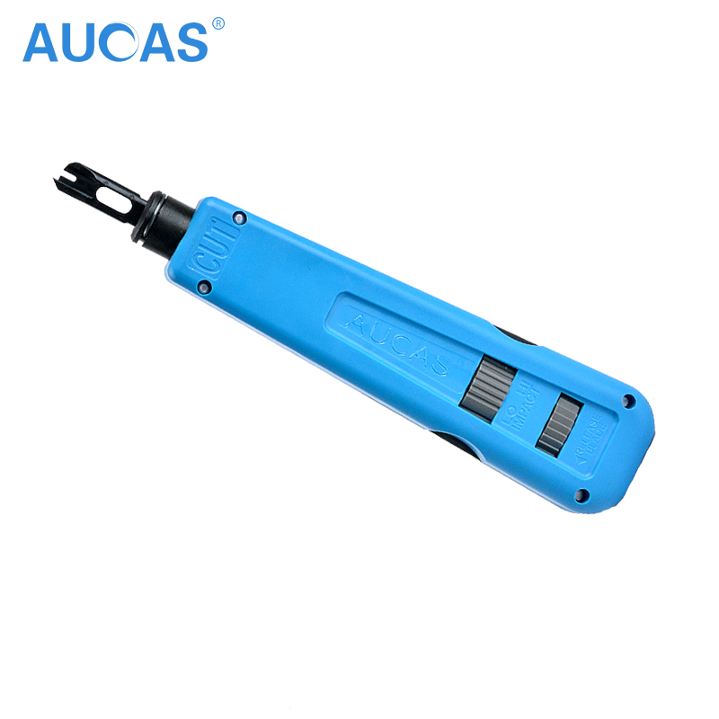 Aucas Network Cable impact krone tool module block insertion punch down tool 110 type patch panel hookup Computer tool