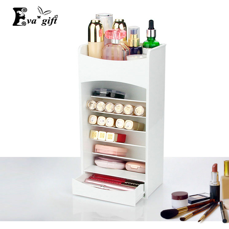 Exhibition Stand Storage : Multi grid storage box cosmetics display stand lipstick