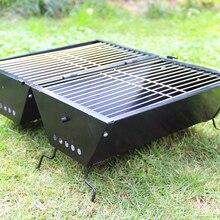 Барбекю гриль сад на открытом воздухе баррель духовка черная Портативная Складная посуда инструменты для барбекю Кухонные аксессуары Кемпинг мясо Вечерние