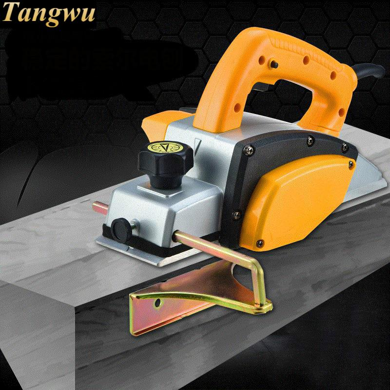 Free shipping Multi-functional portable mini decorate household electric woodworking tools Electric Planer free shipping domestic woodworking high power electric tool portable electric planer
