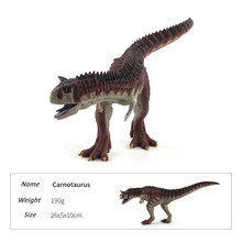 2018 Jurassic World Action Figures Carnotaurus Dinosaur Animal Model Collection Learning Educational Toy For Children #E(China)