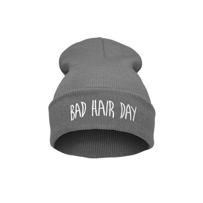 Hotsale Unisex Beanie Knit Cap Bad Hair Day Beanie Hip Hop Colorful Knit Hat