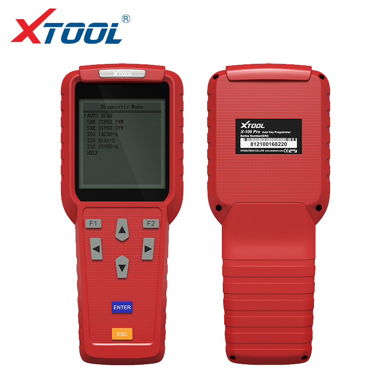 XTOOL X100 Pro OBD2 Programmeur Clé Automatique/Kilométrage réglage Notamment EEPROM Lecteur de Code avec Mise À Jour Gratuite