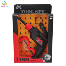 Plastic Toy Drill Pretend Play Toy Child Drill For Boys Children Tools