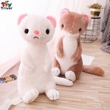 50cm Plush Ferrets Toy Cartoon Mustela Putorius Furo Dolls Simulation Animals Children Birthday Gift Home Decor Triver mustela gel lavant doux