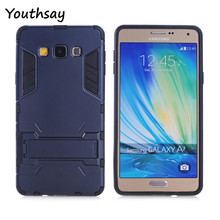 Youthsay For Case Samsung Galaxy A7 Case A700 Phone Cover For Samsung Glaxy A7 Cases Robot Armor For Cover Samsung A7 Fundas
