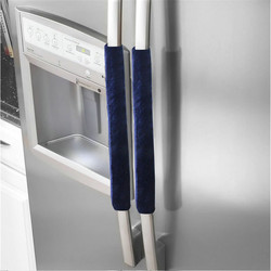 A Pair Refrigerator Handle Cover Kitchen Appliance Refrigerator Cover