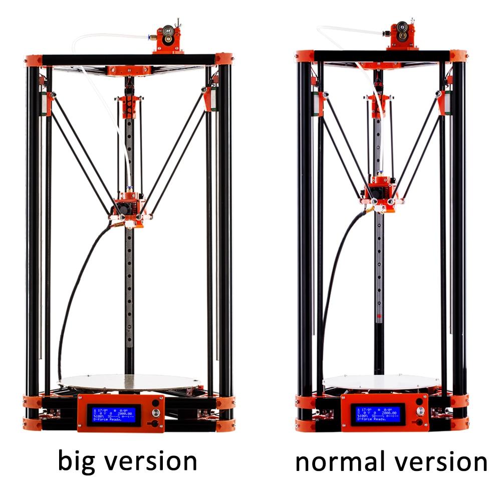 FLSUN 3d принтеры шкив версия линейная направляющая большой принт размеры мм 285*240 мм автоматическое выравнивание кровать с подогревом и один