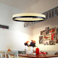 Factory Outlet Modern LED Pendant Lights Lamparas Colgantes Iron Pendant Lamp Lustre For Dining Room Suspension