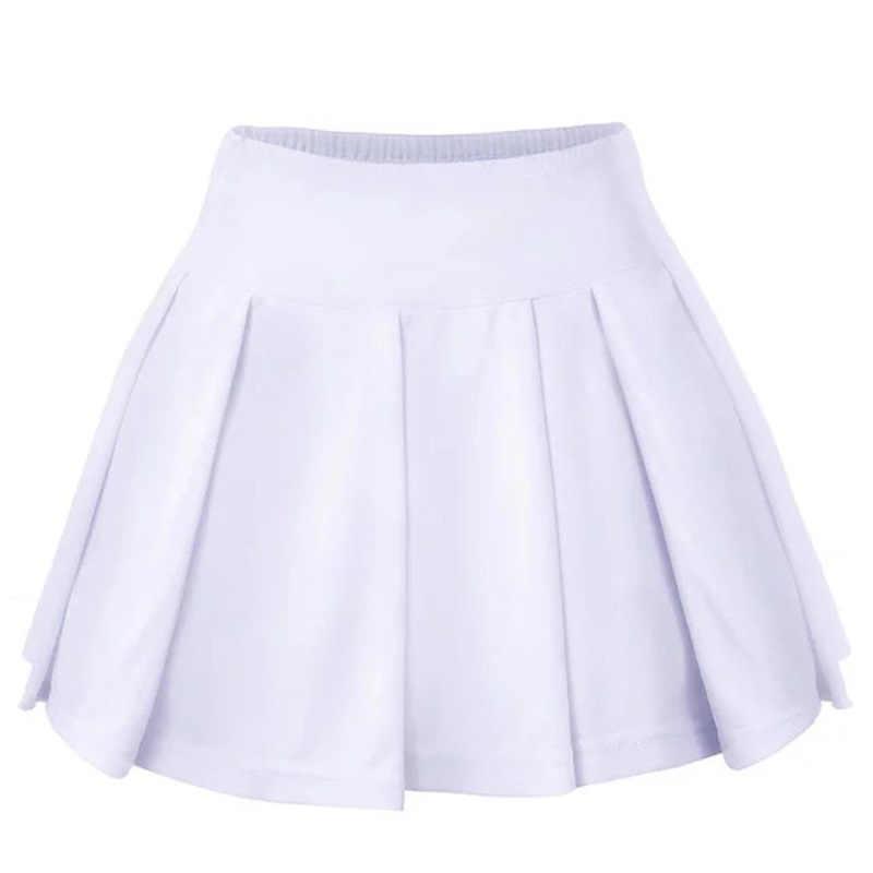 Tenis skorts spódnice damskie szybkie suche dziewczyna lady badminton spódnica do biegania tenis sport spódnice z majtki 1 pc FLG