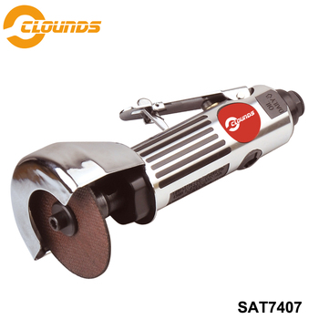 SAT7407 Pneumatic Angle Grinder Air Angle Grinder High Speed 20000rpm Air Cut-Off Tool