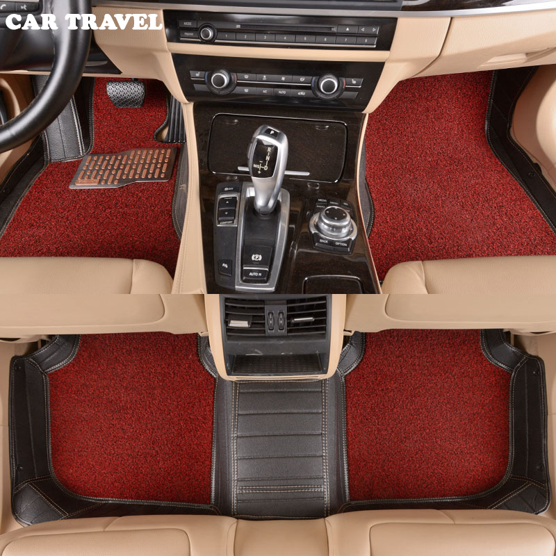 CAR TRAVEL Custom car floor mats Four Season Use for smart all models fortwo forfour forjeremy car styling auto floor mat пена монтажная mastertex all season 750 pro всесезонная