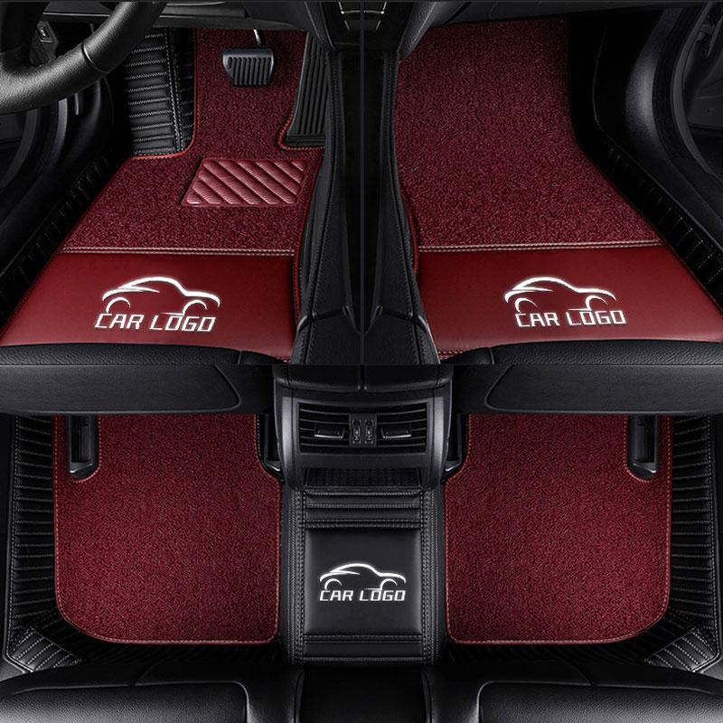 Car carpet fit BMW badge LOGO 1 3 4 5 7 Series X1 X3 X4 X5