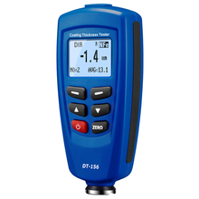 Paint Coating Thickness Gauge Meter Digital DT-156 Tester 0~1250um With Built-in Auto F & NF Probe Width Measuring Tester цены онлайн