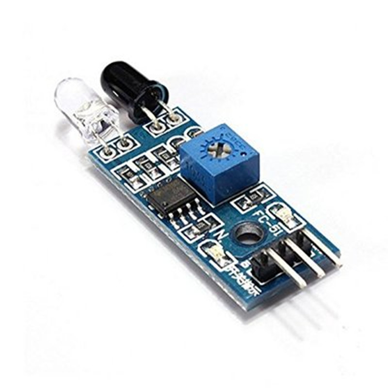 10pcs IR Infrared Obstacle Avoidance Sensor Module Smart Car Robot 3-wire Reflective Photoelectric 20pcs lot ir infrared obstacle avoidance sensor module for arduin smart car robot 3 wire reflective photoelectric new