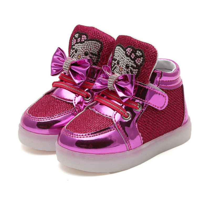 2017-New-Children-Cartoon-KT-LED-shoes-Kids-breathable-sports-shoes-girls-flashing-fashion-glowing-sneakers-2136-1