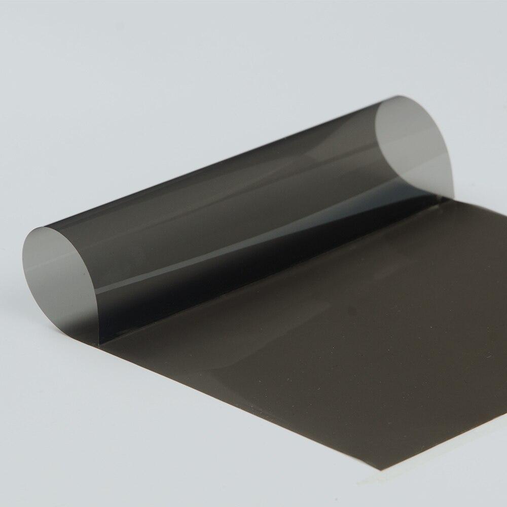 0.5x20m 4mil nano céramique solaire teinte 35% VLT voiture fenêtre Film 99% UV preuve solaire teinte chaleur rejet adhésif autocollant