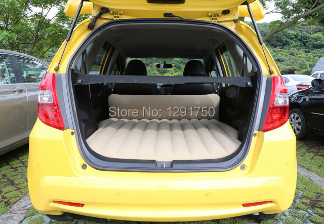 car travel bed inflatable mattress  honda fit car inflatable bed  civic car unflattering