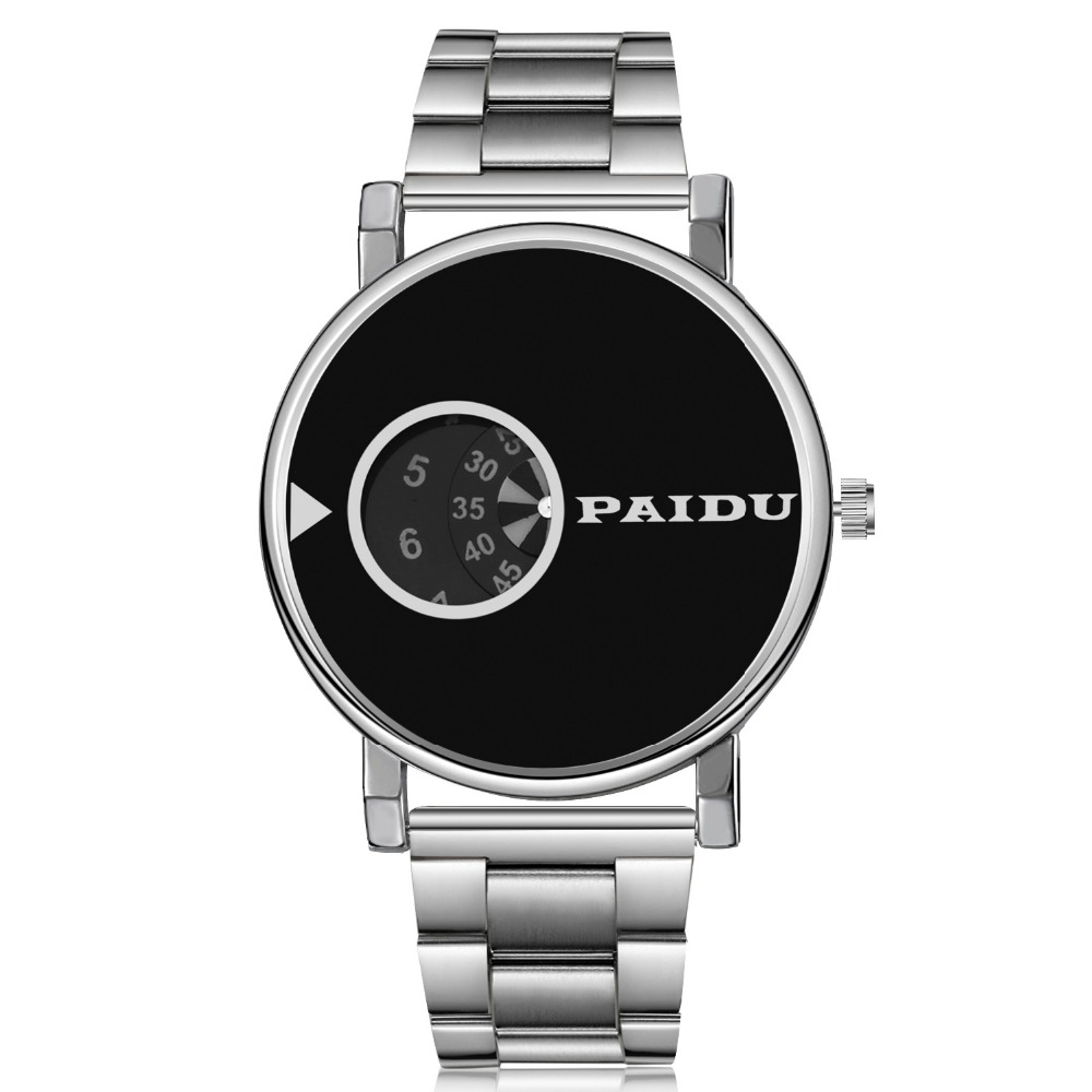 Paidu Luxury Silver Watch Women Watches Fashion Turntable Watches Ladies Watch Quartz Clock Hour relogio feminino reloj mujer sinobi ceramic watch women watches luxury women s watches week date ladies watch clock montre femme relogio feminino reloj mujer