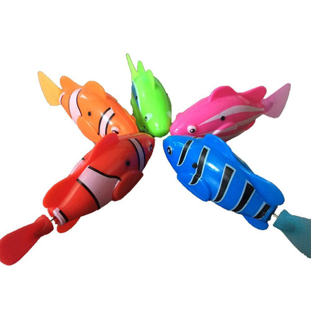 Robofish Activated Battery Powered Robo Fish Toy Fish Robotic Fish Tank Aquarium Ornaments Decorations Funny Swim Electronic