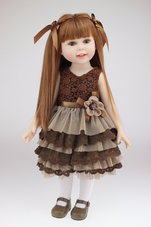 NPK 18 ''45 см/игрушки куклы для девочек высокого качества sumilation bonecas для маленьких девочек силиконовые куклы для новорожденных и малышей bebe DIY