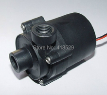 DC 12V 10W Water Pump 3Pin connecter lift 4m 500 L/H G1/4″input and output