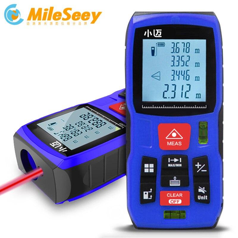 все цены на Mileseey MINI Meters Laser Distance Meter Rangefinder Finder Handheld Measure Accurate measuring