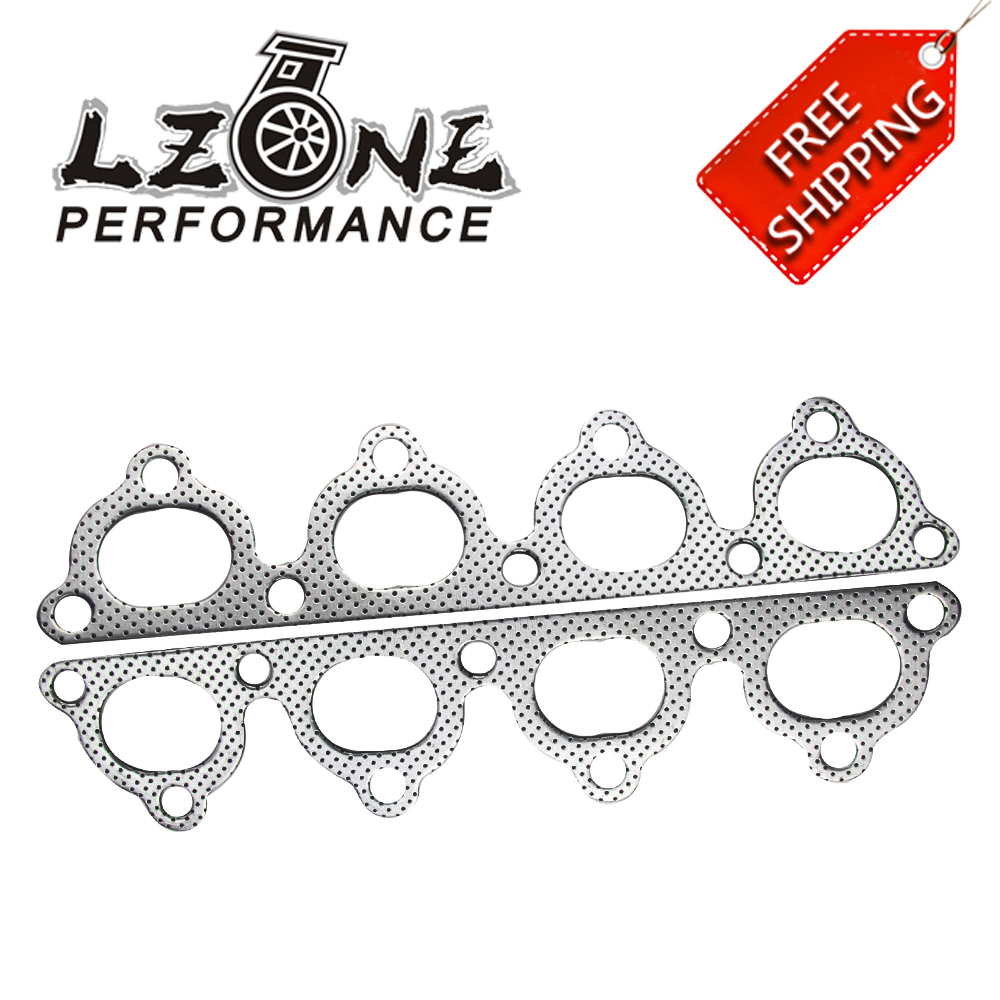 FREE SHIPPING FOR HONDA D SERIES EXHAUST HEADER MANIFOLD