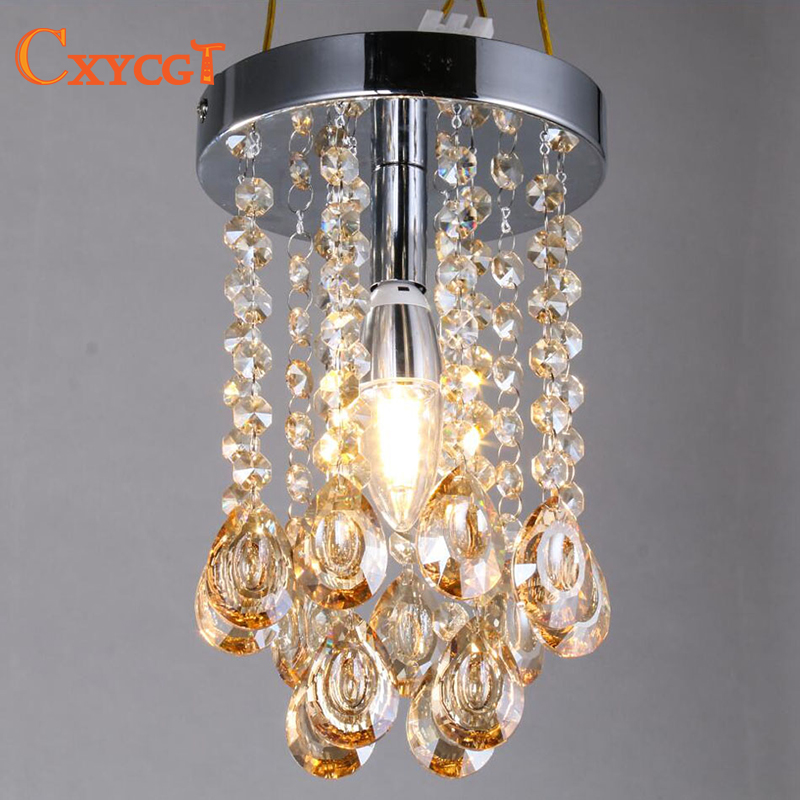 Buy luxury mini small crystal chandelier - Small bathroom chandelier crystal ...