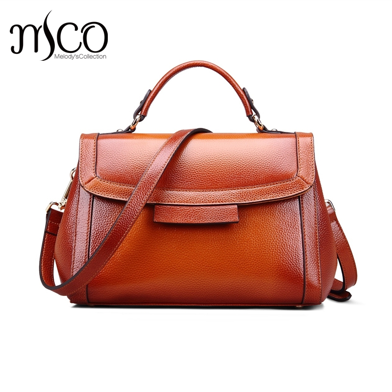 Top-handle bags Genuine Leather Designer Handbags Women Bag Ladies Luxury High quality Shoulder Bag Vintage Satchel Dollar Price