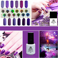 Born Pretty Charming Purple Series Nail Art UV Gel Soak Off UV Polish 12 Colors Manicure Nail Art UV Gel Varnish