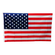 USA Flag Red Line With Brass Grommets Polyester Double Sided Printed American for Independence Day