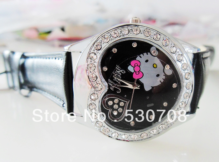ac680d2a7 Hello Kitty watches girl KT cat love child watches in box free shipping1pcs/ lot-in Lover's Watches from Watches on Aliexpress.com   Alibaba Group