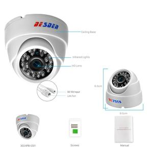 Image 3 - BESDER 2.8MM Wide Angle IP Camera 720P/1080P P2P H.264 Onvif Small CCTV Indoor Dome Surveillance Video Camera RTSP 48V POE XMEye