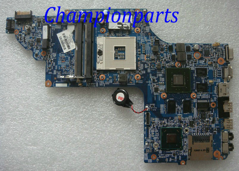 Warranty 90 days 682170-001 682170-501 Fit For HP Pavilion DV6 Laptop motherboard Notebook Mainboard 48.4ST10.031