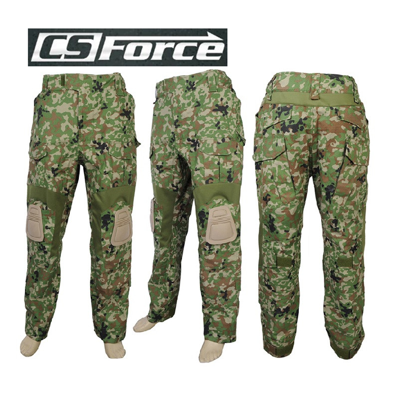 Airsoft Military Tactical G2 Integrated Battle Pants with Knee Pads Paintball Outdoor Sports Combat  Pants JGSDF 34W/L 36W/XL original nmb refrigerators for panasonic nr c25vx2 bcd 251wxbc frozen club cooling fan