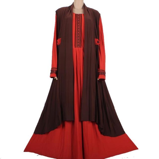 Ropa Islámica para las mujeres abaya musulmán hijab vestido largo turca abaya kaftan dubai abaya musulmán 4387