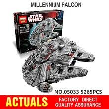 LEPIN 05033 5265Pcs Star Wars Ultimate Collector's Millennium Falcon Model Building Kit Blocks Bricks Toy Compatible Legeo 10179