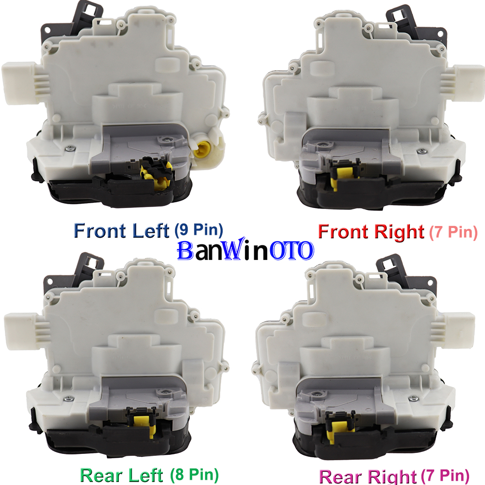 4F1837015 Door Lock Actuator Latch Central Mechanism for Audi A3 A6 C6 Allroad A8 for Seat