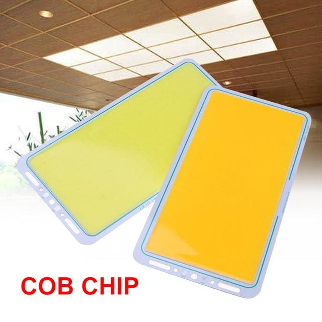 Ramah Lingkungan Panel LED Strip 100 W DIY Putih/Warmwhite COB Chip Lampu