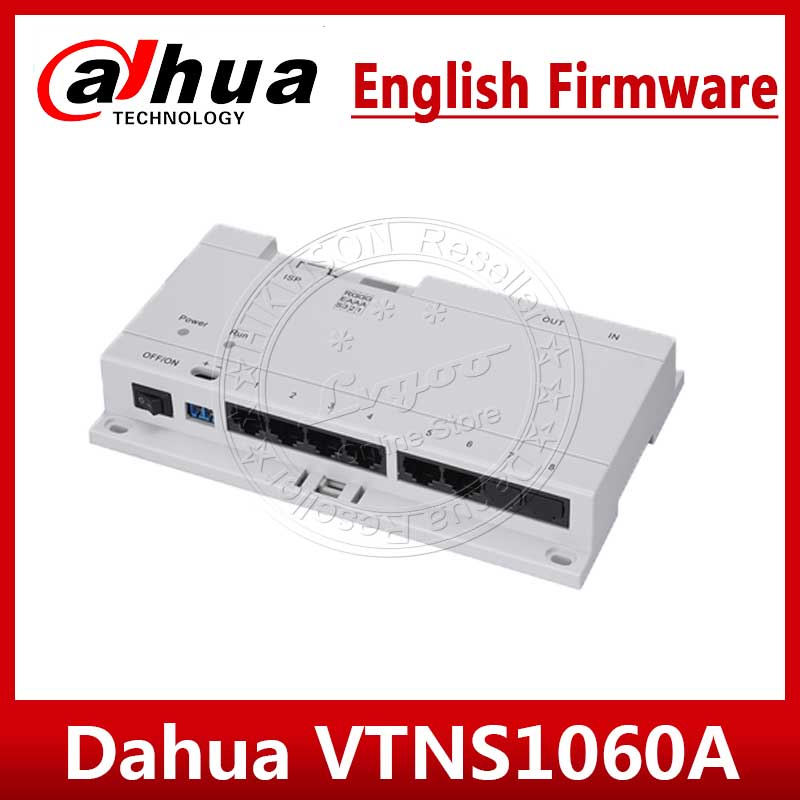 Dahua VTNS1060A Video Intercom POE Switch For IP System VTO2000A Connect Max 6 Indoor Monitors For VTH1510CH VTH1550CH VTH1660CH