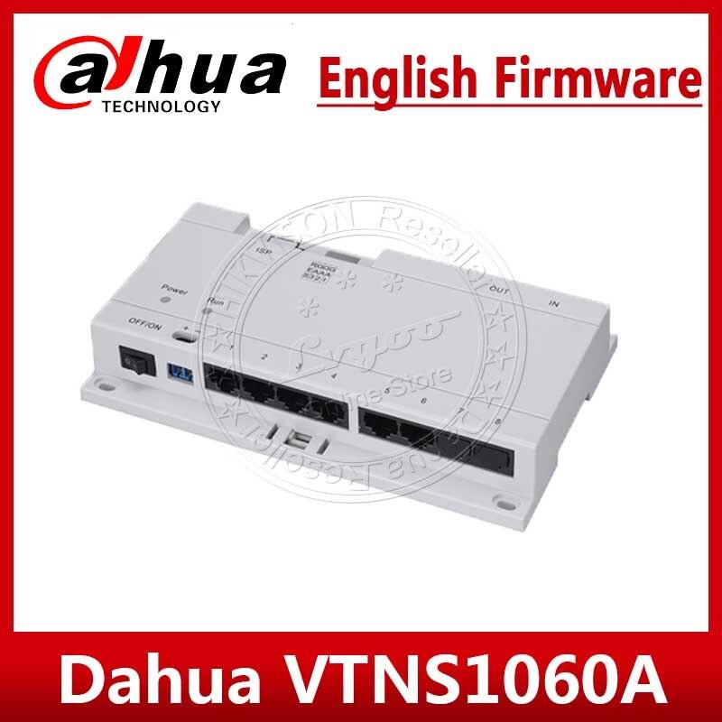 Dahua-Interruptor de intercomunicador POE VTNS1060A para sistema IP, VTO2000A, conectar hasta 6 monitores interiores para VTH1510CH, VTH1550CH, VTH1660CH